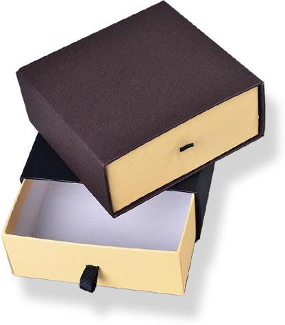картонные коробки оклееные дизайнерской бумагой