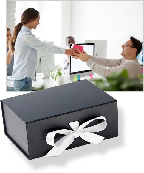 коробки с индивидуальным дизайном для подарков клиентам