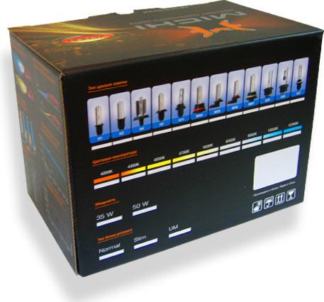 кашированная коробка с полиграфией