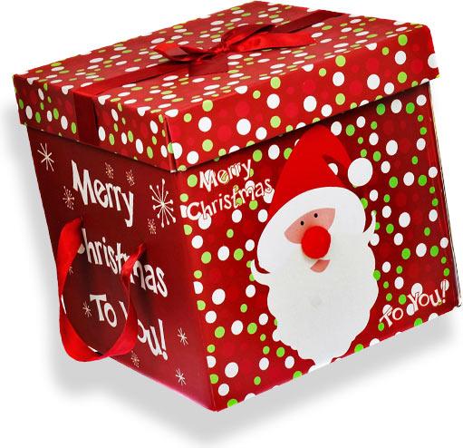Новогодняя коробка