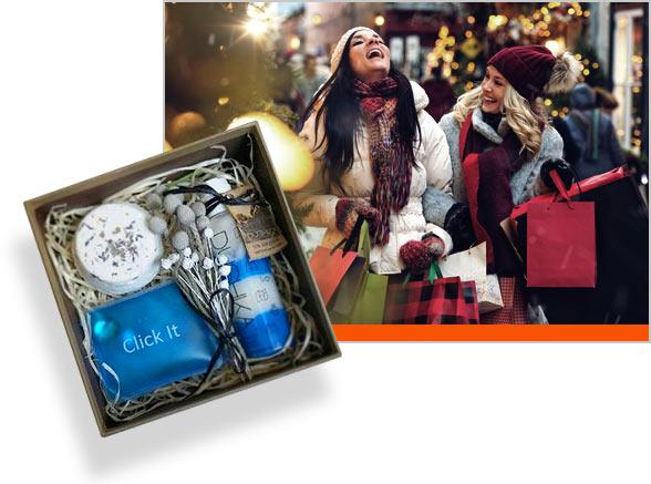 новогодние коробки для наборов подарков