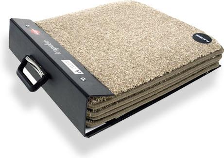 папка для образцов ковровых покрытий