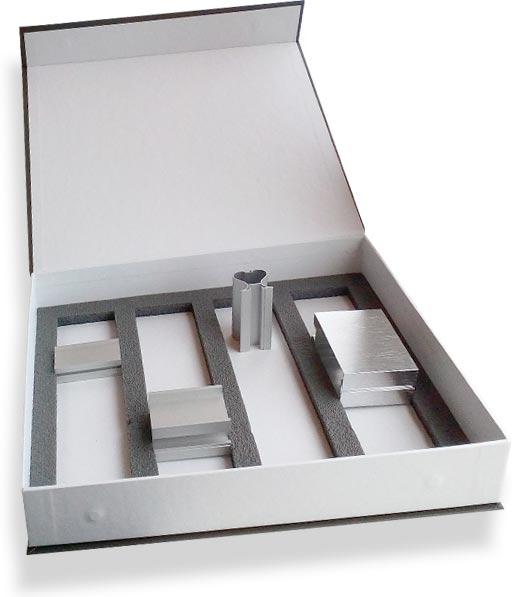 папка для образцов алюминиевого профиля