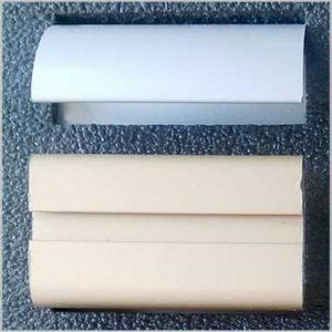 образец алюминиевого профиля в ложементе