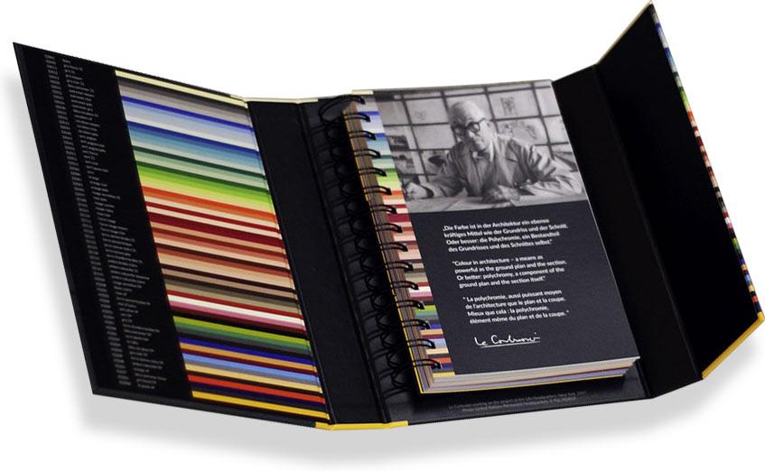 папка для цветов краски