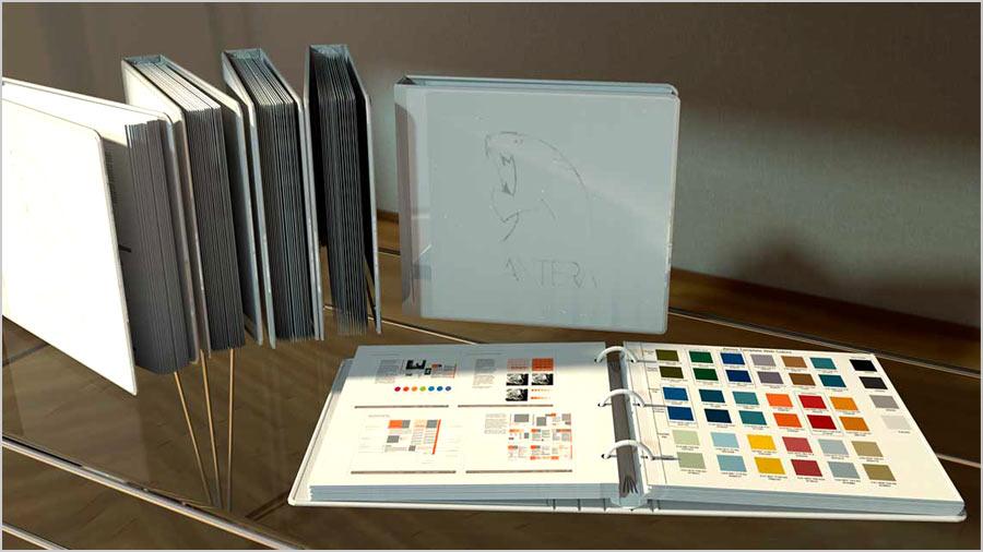 каталоги с краской