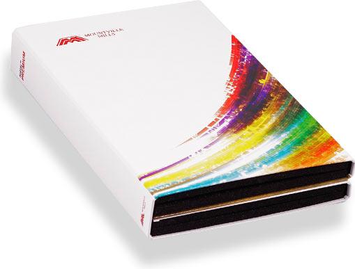 папка для выкрасок цветов