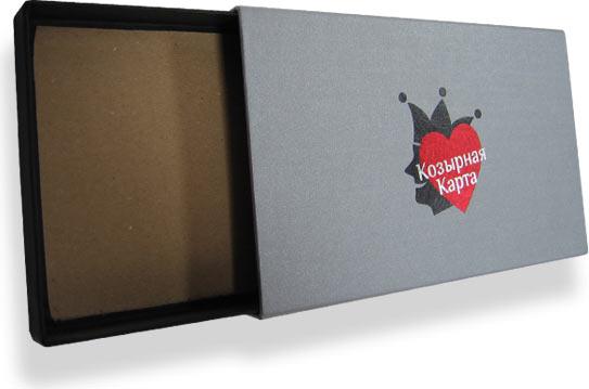подарочная коробка из картона
