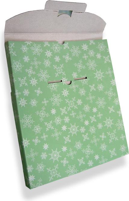 подарочная коробка для подарка на Новый Год